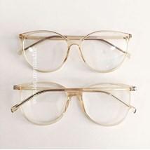 Armação de óculos de grau - Jasmine - Dourada Transparente