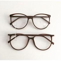 Armação de óculos de grau - Jasmine - Marrom Glow