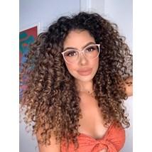 Armação de óculos de grau - Jasmine - Nude clarinho