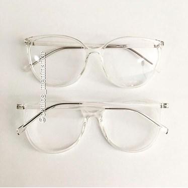 Armação de óculos de grau - Jasmine - Transparente