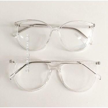 Armação de óculos de grau - Jasmine - Transparente Glow