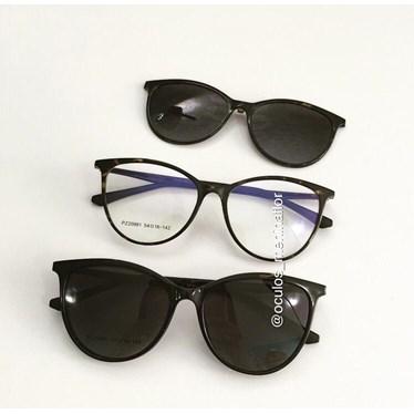 Armação de óculos de grau - Jasmine two - Animal print escuro C4
