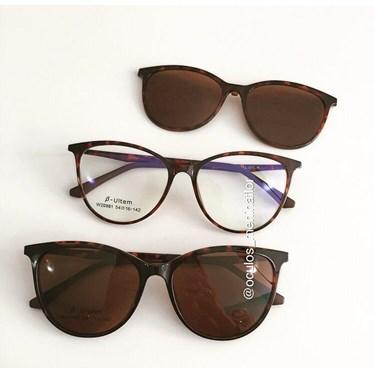 Armação de óculos de grau - Jasmine two - Animal print lente marrom