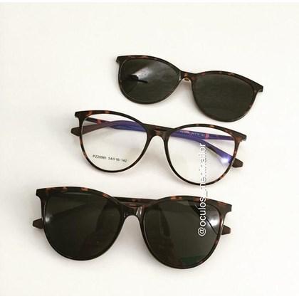 Armação de óculos de grau - Jasmine two - Animal print lente preta C3