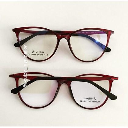 Armação de óculos de grau - Jasmine two - Bordo  C7