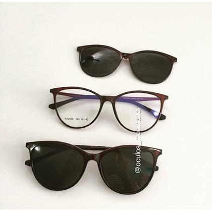 Armação de óculos de grau - Jasmine two - Marrom lente preta C2