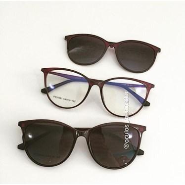 Armação de óculos de grau - Jasmine two - Roxo Amora