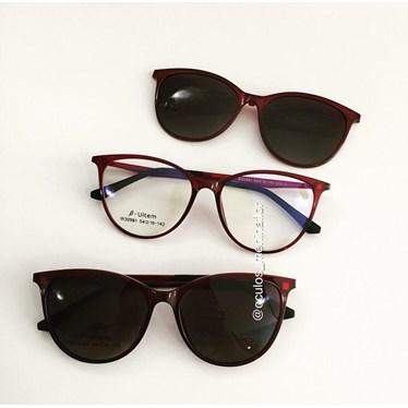 Armação de óculos de grau - Jasmine two - Vinho C7