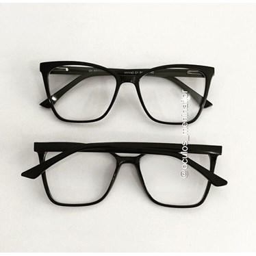 Armação de óculos de grau - Julinha1142 - Preto