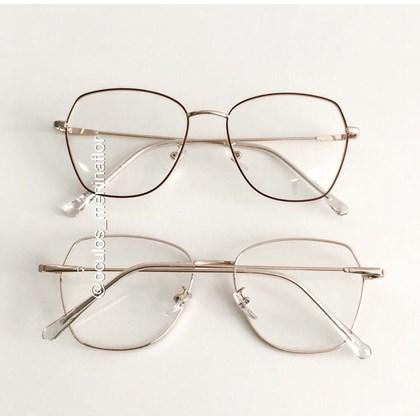 Armação de óculos de grau - Kiara - Vinho C4