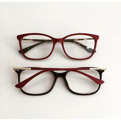 Armação de óculos de grau - Lari 2151 - Bordo