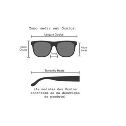 Armação de óculos de grau - Lari 2151 - Preto
