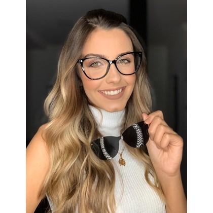 Armação de óculos de grau - Laura 5102/6102 - Preto C4