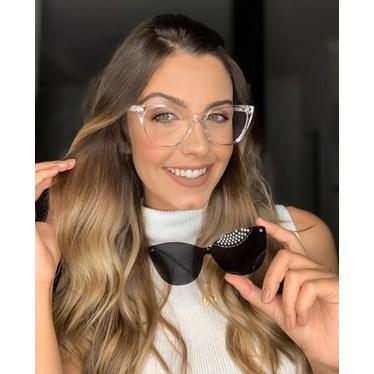Armação de Óculos de Grau - Laura 5102/6102 - Transparente C2