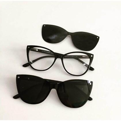 Armação de óculos de grau - Laura 5102 - Preto C4