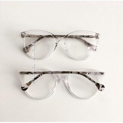Armação de óculos de grau - Lexa 2145 - Transparente