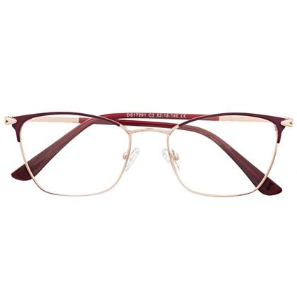 Armação de óculos de grau - Lilian 2.0 - Bordo