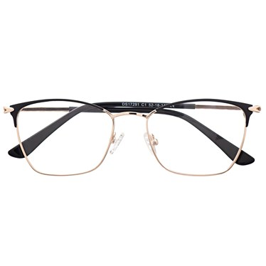 Armação de óculos de grau - Lilian 2.0 - Preto