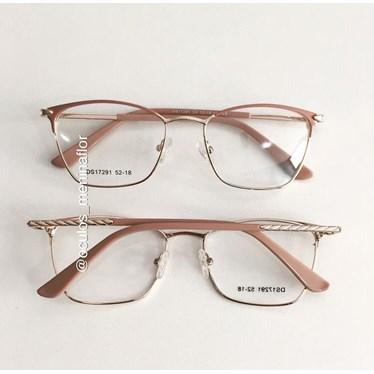 Armação de óculos de grau - Lilian 2.0 - Rose