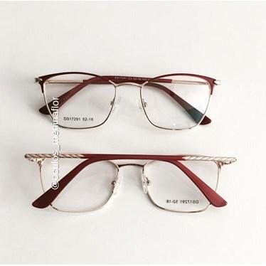 Armação de óculos de grau - Lilian 2.0 - Vinho