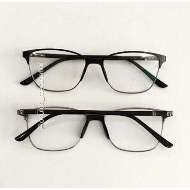 Armação de óculos de grau - Lilian - Preto