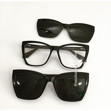Armação de óculos de grau - Lindsay 8031 - Preto C1