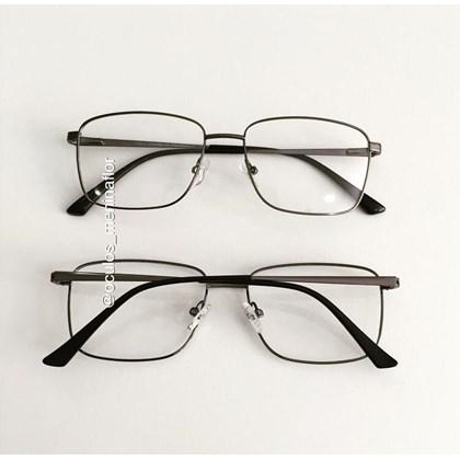 Armação de óculos de grau - Lini - Grafite