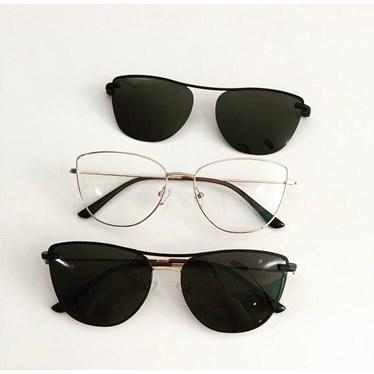 Armação de óculos de grau - Líris 33068 - Dourado