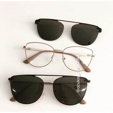 Armação de óculos de grau - Líris - Nude