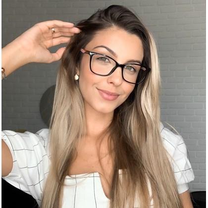 Armação de óculos de grau - Lisiane 3763 - Preto