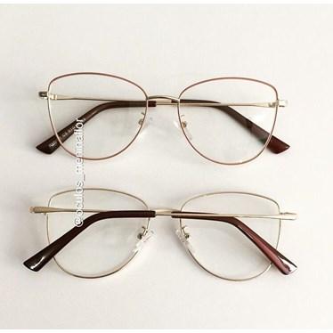 Armação de óculos de grau - Lorenza - Nude