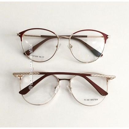 Armação de óculos de grau - Luara 7200 - Bordo