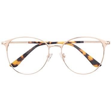 Armação de óculos de grau - Luara 7200 - Dourado