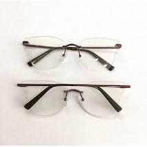 Armação de óculos de grau - Luisa 3 Pontos - Lilás Metálico C5