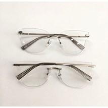 Armação de óculos de grau - Luisa 3 Pontos - Prata C2