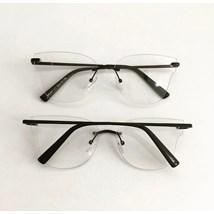 Armação de óculos de grau - Luisa 3 Pontos - Preto