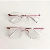 Armação de óculos de grau - Luisa 3 Pontos - Rose Metálico