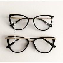 Armação de óculos de grau - Lumah - Preto