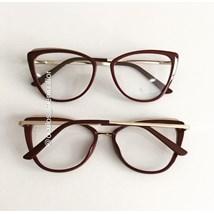 Armação de óculos de grau - Lumah - Vinho
