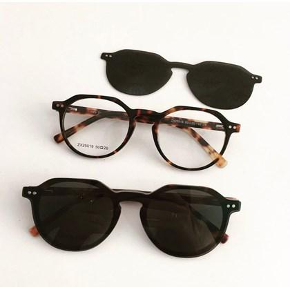 Armação de óculos de grau - Madagascar 25019 - Animal print C2