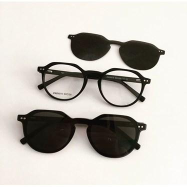 Armação de óculos de grau - Madagascar 25019 - Preto