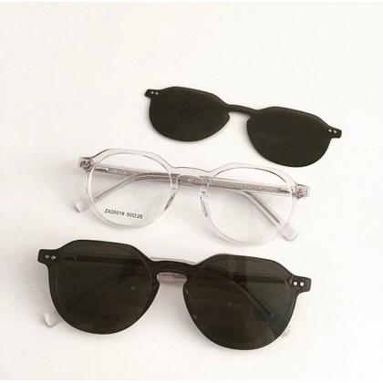 Armação de óculos de grau - Madagascar 25019 - Transparente C4
