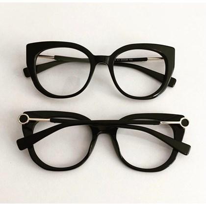 Armação de óculos de grau - Magali 2102 - Preto