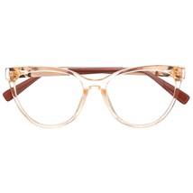 Armação de óculos de grau - Majuh - Dourado transparente