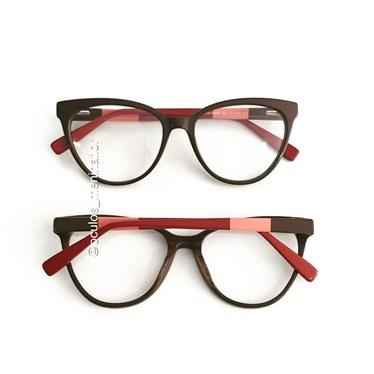 Armação de óculos de grau - Majuh - Marrom