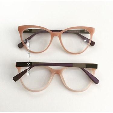 Armação de óculos de grau - Majuh - Rose