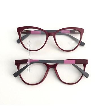 Armação de óculos de grau - Majuh - Vinho