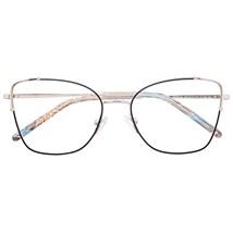 Armação de óculos de grau - Maldivas - Preto com prata C4