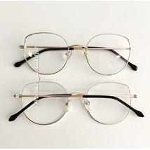 Armação de óculos de grau - Malévola - Dourado