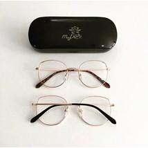 Armação de óculos de grau - Malévola - Rose Gold